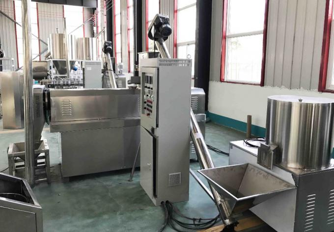 High Capacity Multifunctional Chocolate Core filling puff snacks food production line / puff snacks making machine