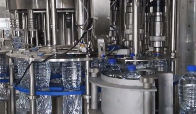 Hot Fill Pure Mineral Drinking Water Production Line For Round / Square Bottles