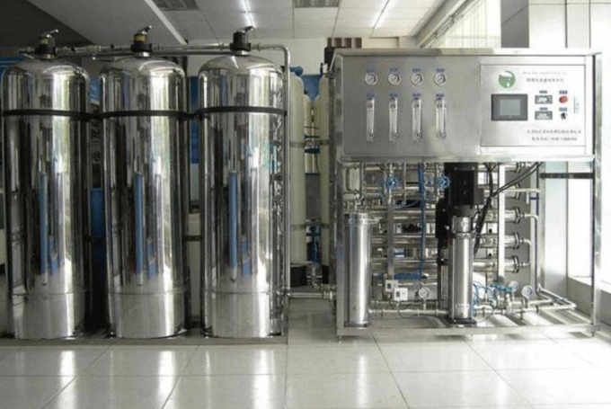 Single Stage 1-10 t /hour Reverse Osmosis water treatment / pure water making machine / water filtration system