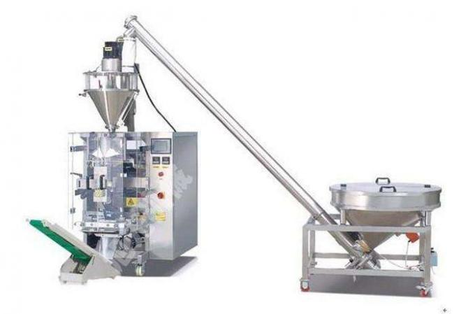 150g - 2000g Powder Bag Packing Machine , Automatic Bag Filling And Sealing Machine