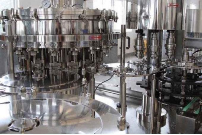 Small Capacity Stainless Steel 3-in-1 Glass Bottle small scale juice bottling equipment /juice bottling plant