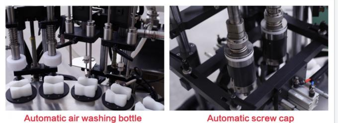 Automatic & Manual Cosmetic Filling Machine / Filling Machine For Cosmetic Creams & Lotions