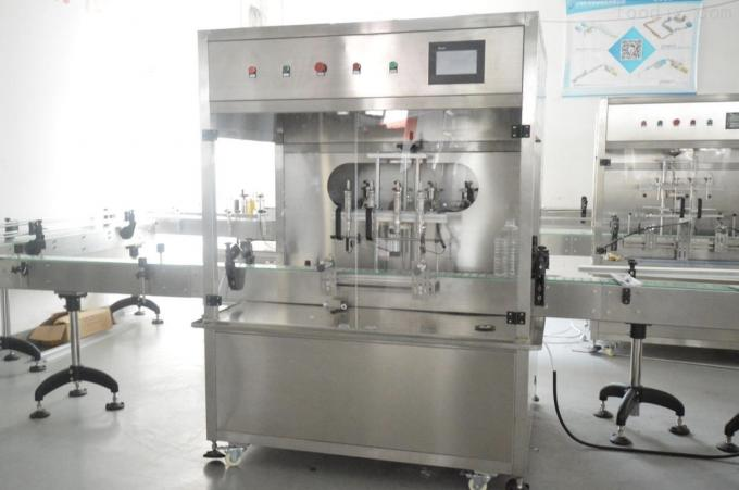 5000bph-20000BPH Oil Bottle Packing Machine / Edible Oil Production Line For 0.5L - 5L Bottle