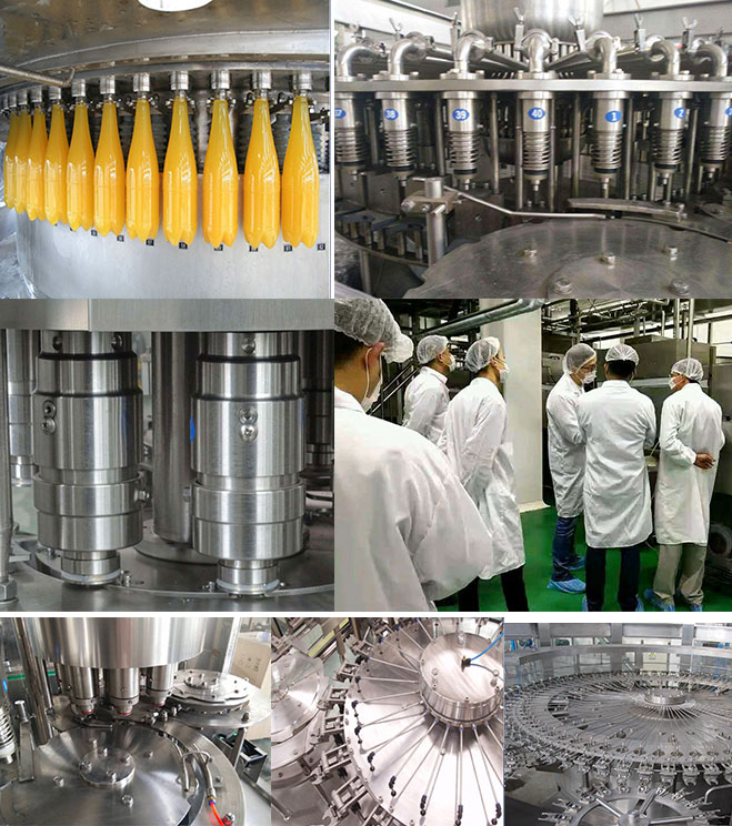 Commercial Fruit Juice Production Equipment ,12000 BPH Fruit Juice Manufacturing Plant