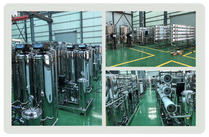 High Capacity 1 - 3 Stage Industry Drinking Water Treatment Plant / Industrial RO System Plant