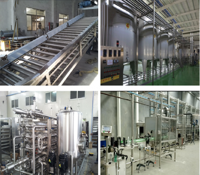 Bottled Orange Juice Processing Line / Processing Machine Concentrated Automatic 1T-10T/H