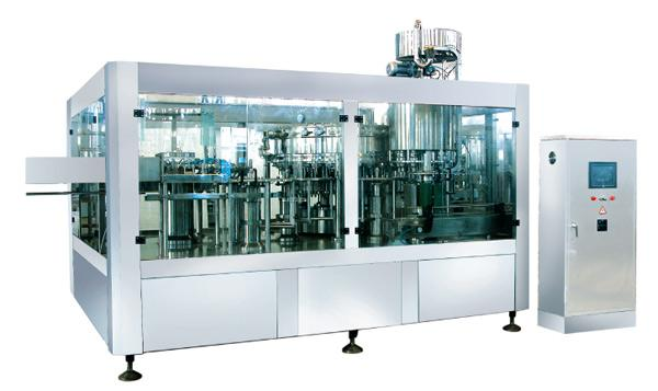 Famous brand Fully Automatic 6000-12000BPH  Carbonated Beverage Complete Filling Line For Glass Bottle CE
