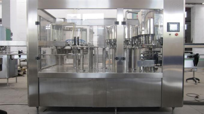 High Capacity15000BPH Filling Carbonated Water Machine / Production Line Commercial For Pet Bottle