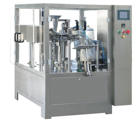 fully automatic soft tube filling sealing machine inner heating plastic