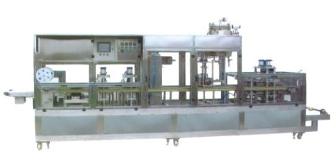 potato chips nitrogen packaging machine/vacuum packaging machine