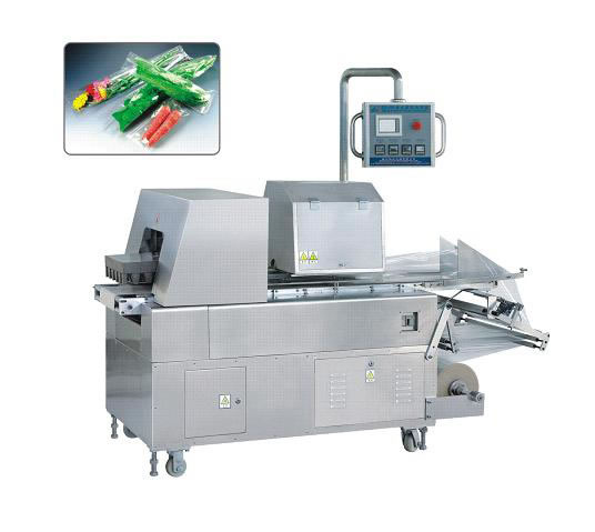 china fully-auto collate tape shrink packaging machine