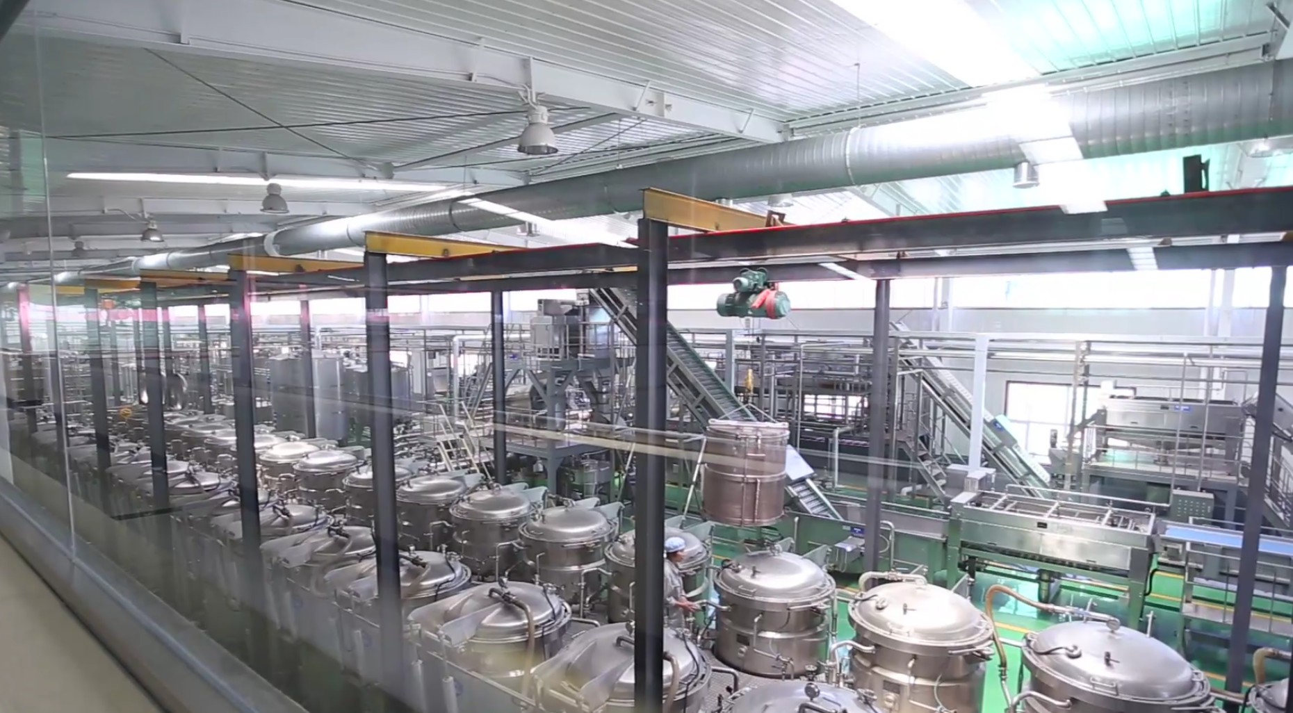 carbonated drink filling machine - carbonated soft drink plant