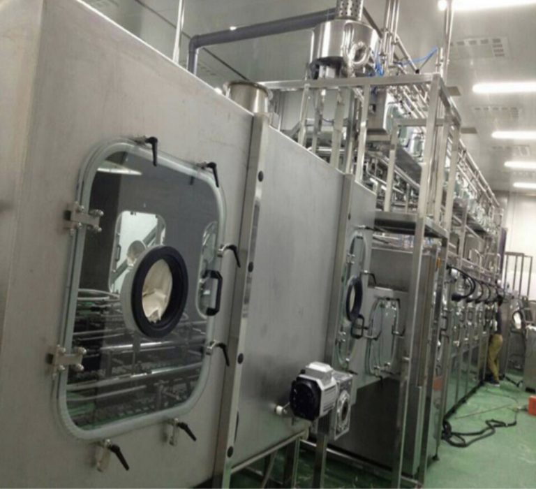 potato chips nitrogen packaging machine/vacuum packaging