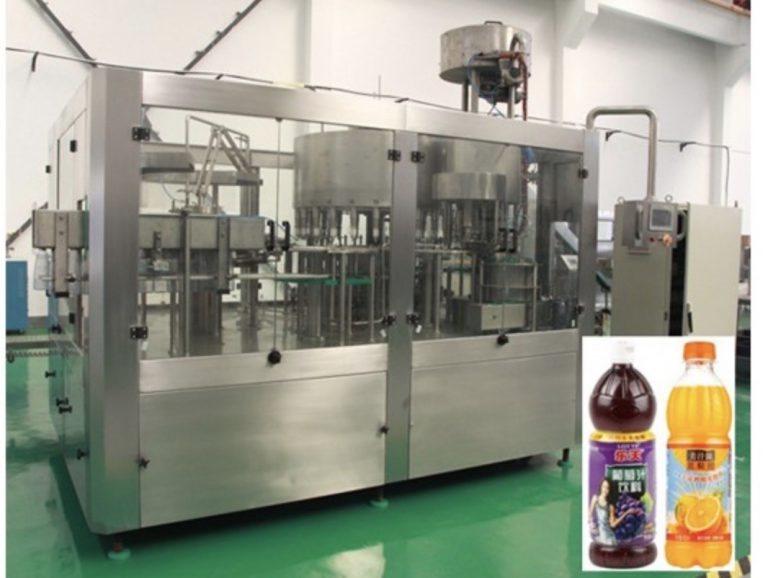 lemon juice aluminum can filling production machine