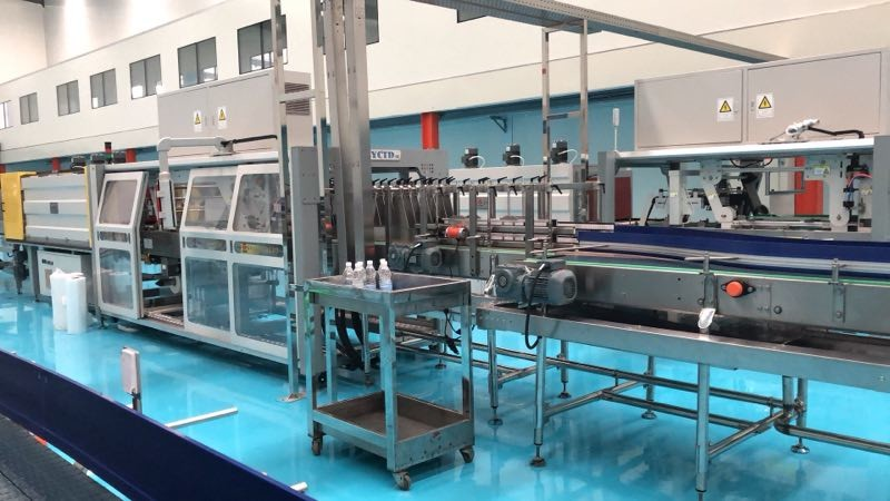 full-automatic quantitative packing production line for granule