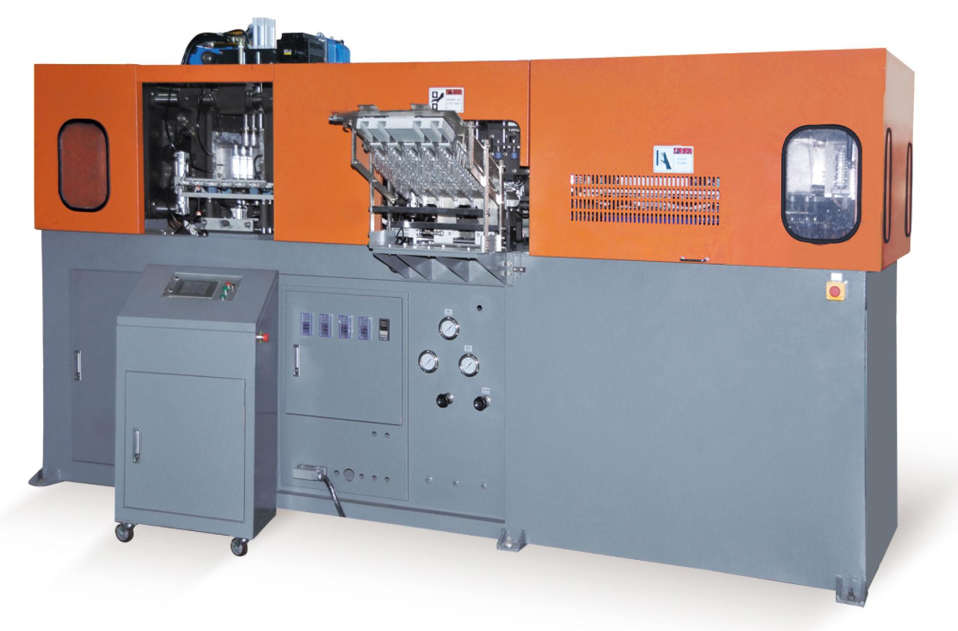 Full Automatic Blow Molding Machine , Mineral Water Bottle Making Machine