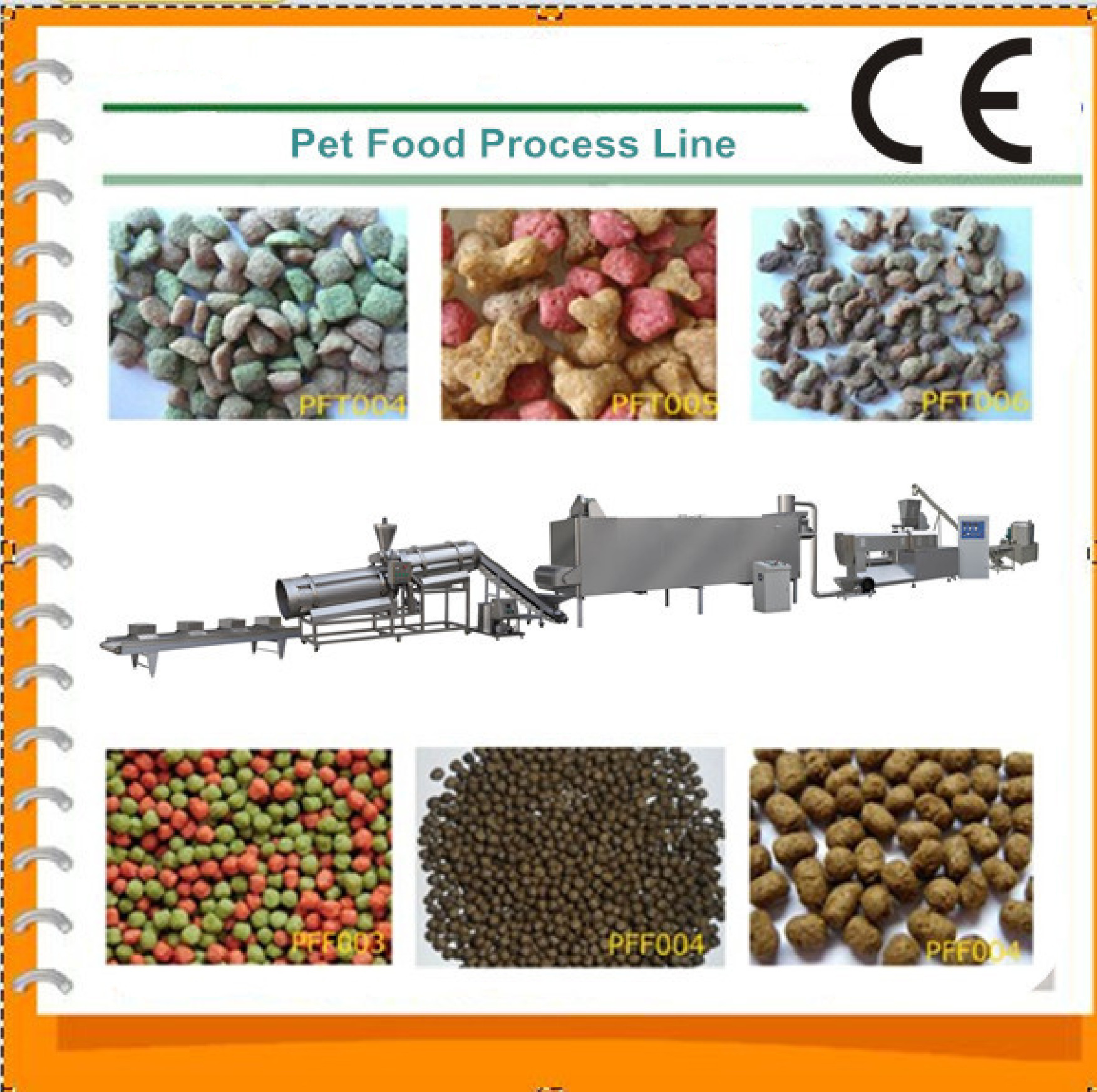 Multi Functional Dog Biscuit Making Machine Turnkey Project For Dog / Cat