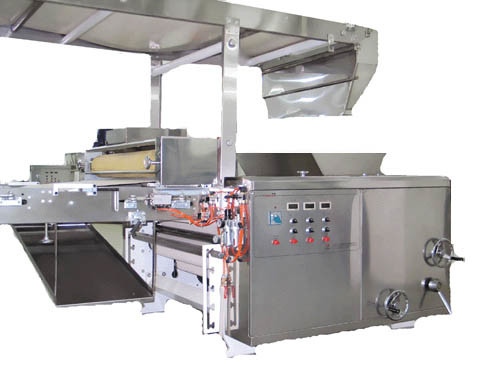 Cream Filled Wafer Biscuit Production Line Fully Automatic Easy Operation