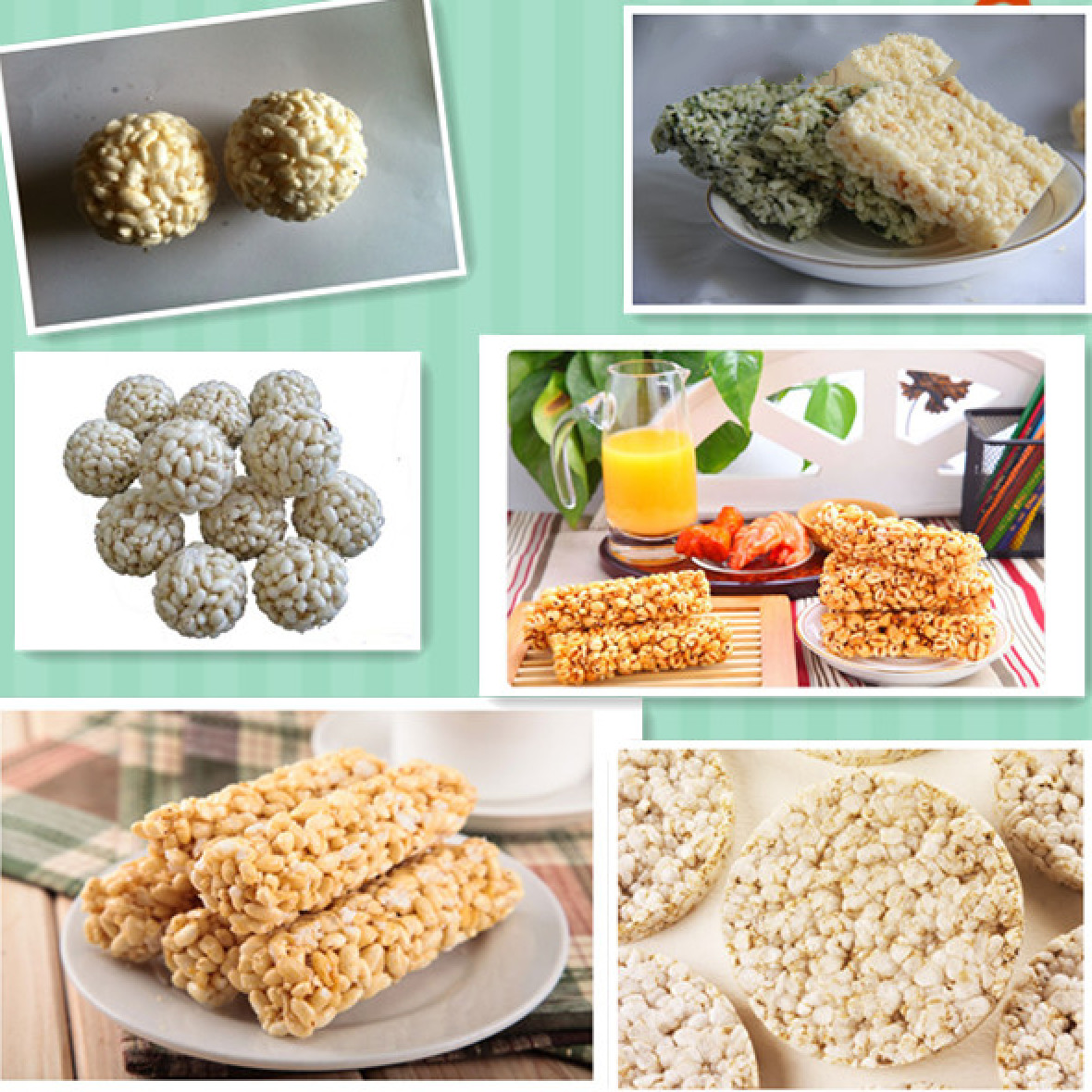 Air Flow Puffing Machine , Nuts Filled Biscuit Production Plant For Round Ball