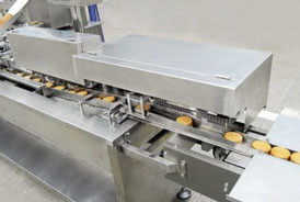 100 kg / H  – 250KG / H Biscuit / Cookie Production Line For Snack Food IOS9001 Certificated