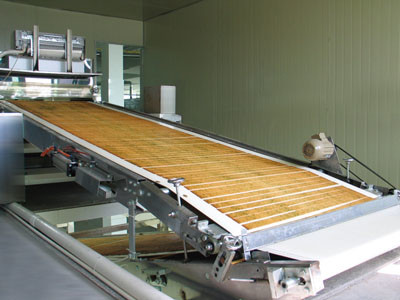 Small Hot Wafers Cookie Production Line , Chocolate Filling Snack Production Line