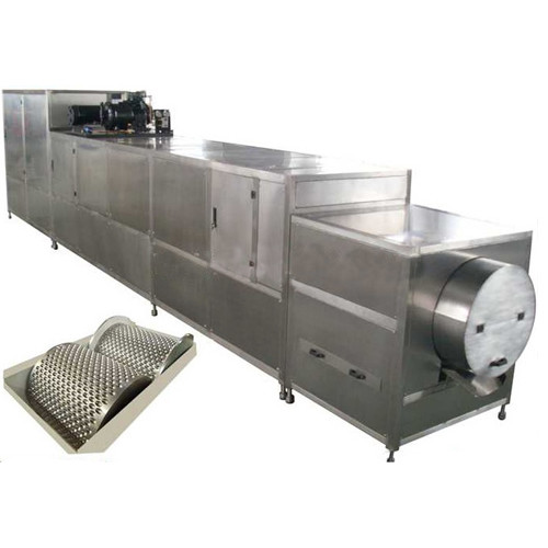 Food Grade Snack Food Making Machine , Chocolate Coating Machine Fully Automatic