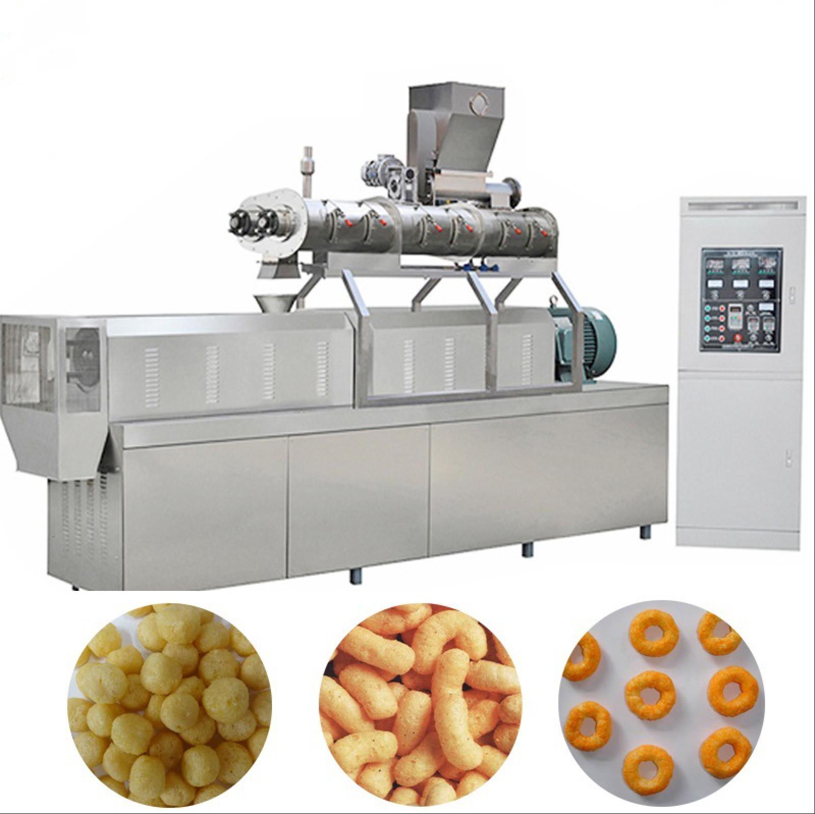 High Efficiency Snack Food Production Line / Corn Snacks Making Machine