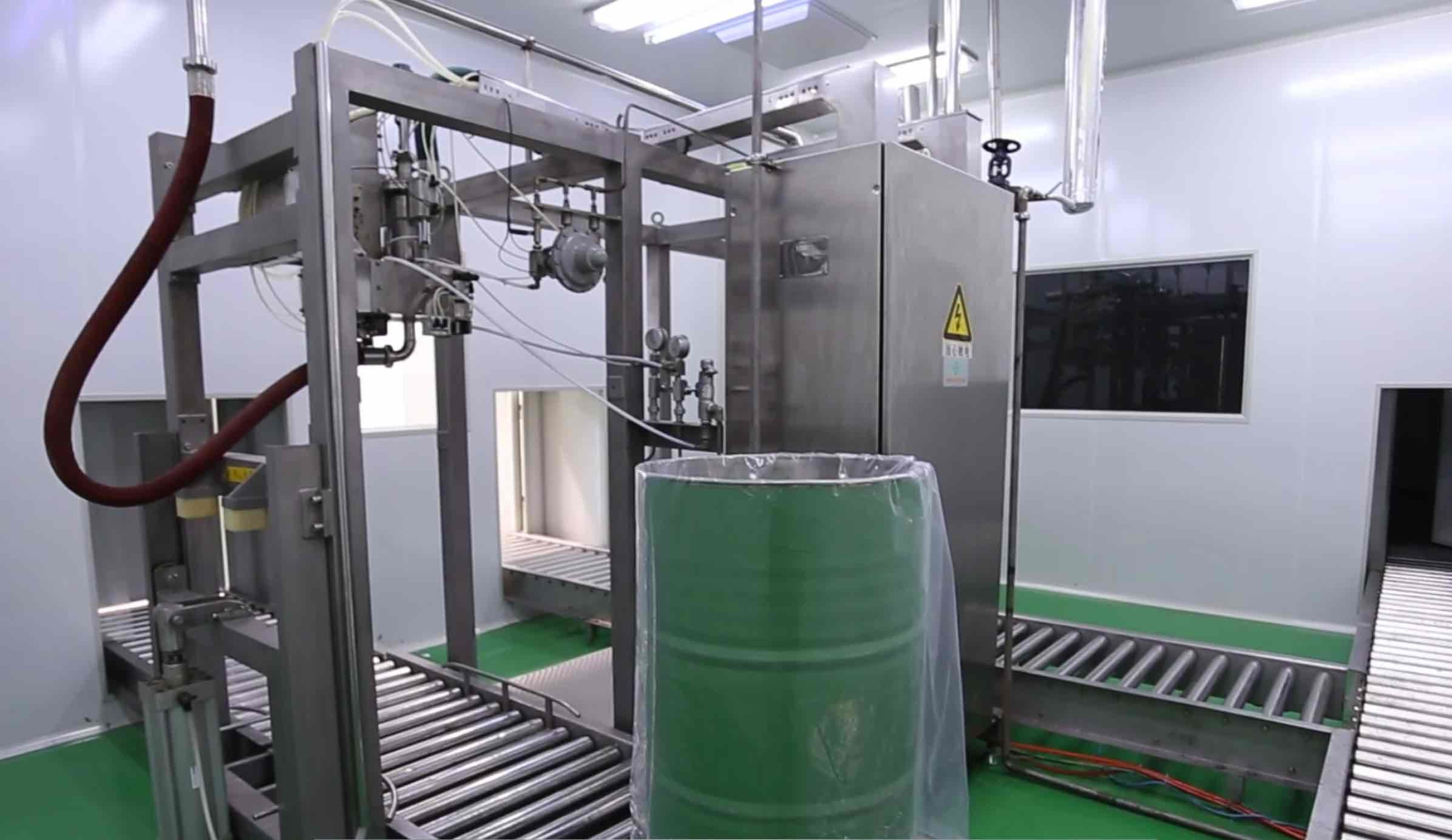 High Automatic Fresh Milk Powder Production Line With Bottle Filling Machine