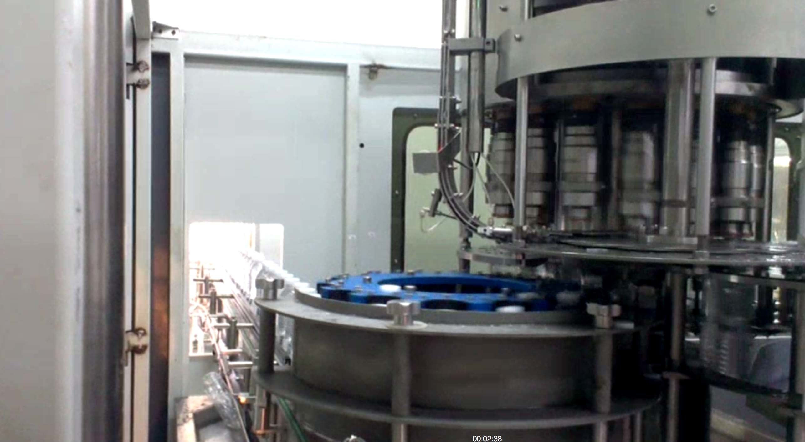 3 In 1 Automatic Washing Filling Capping Machine For Food / Beverage CE Standard