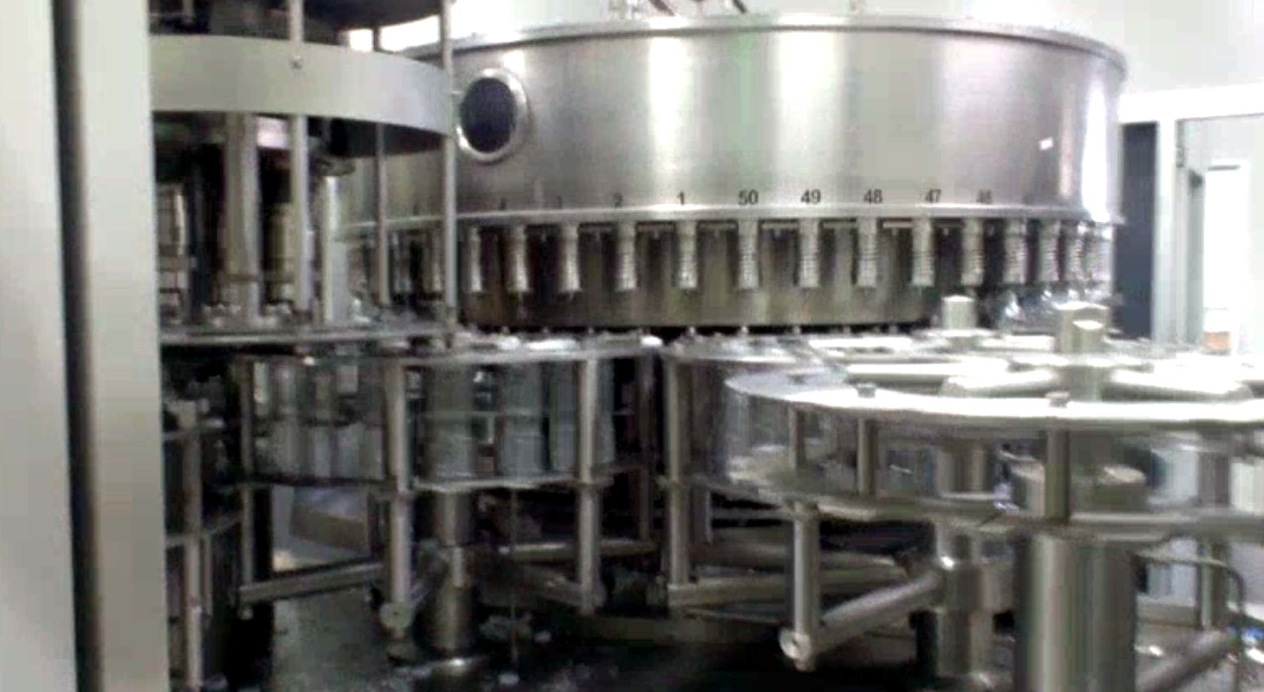 Mineral Water Bottling Plant , Automatic / Semi Automatic Bottle Filling Machine