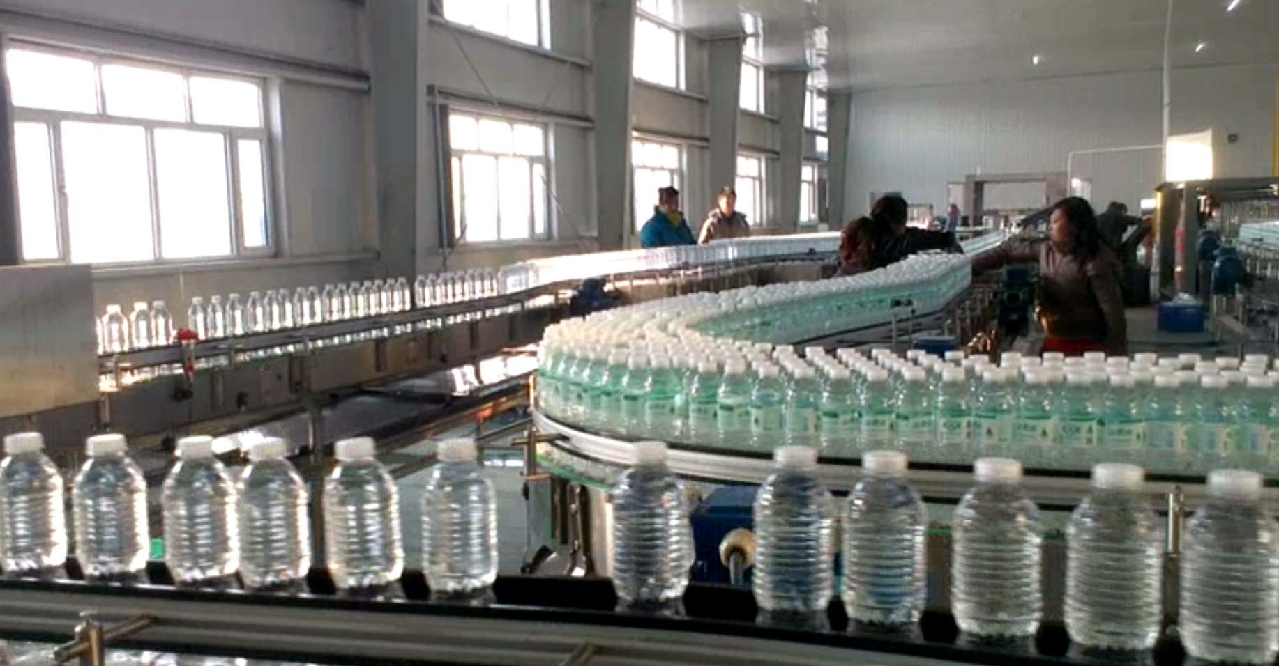 Spring / Groundwater Drinking Water Production Line For Bottle 200 – 2000ml
