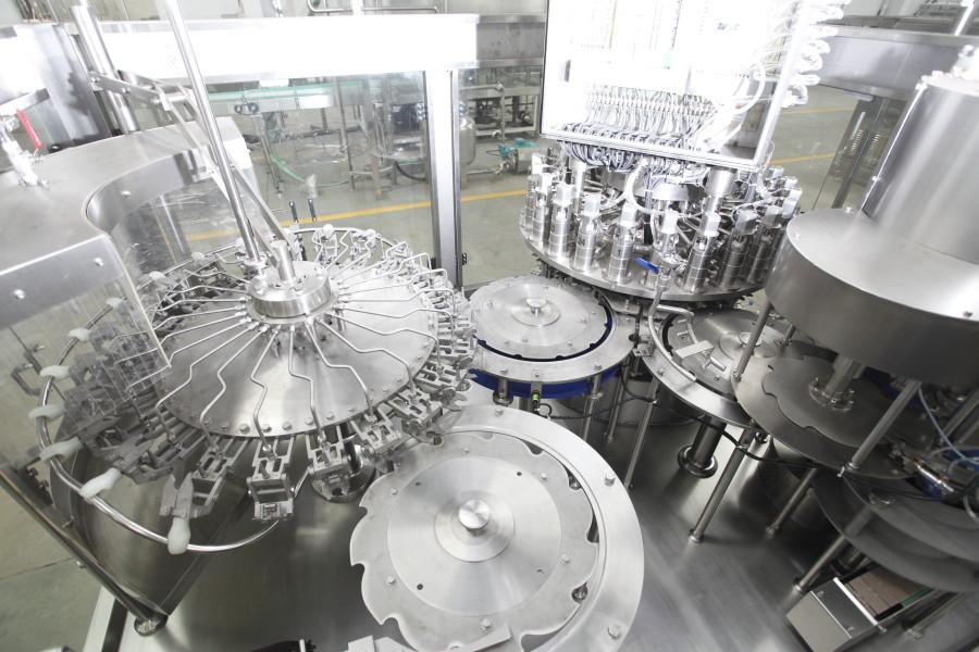 300ml-2L PET Bottle Water Filling Machine , Mineral Water Bottling Machine