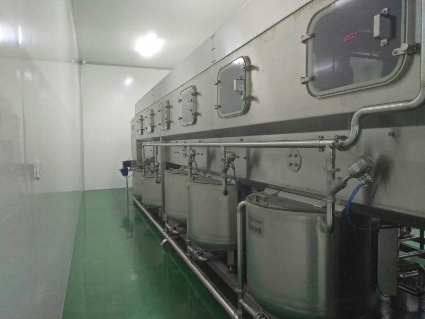 Barrel Drinking Water Production Line 19 Liters / 20 Liters 5 Gallon For Mineral Water