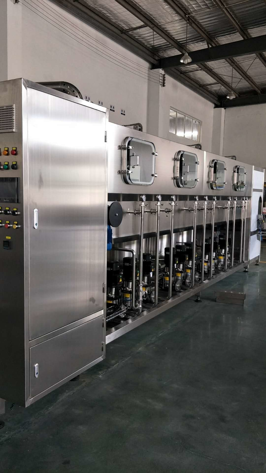 High Speed 5 Gallon Drinking Water Filling Machine , Automatic Pure Water Production Line