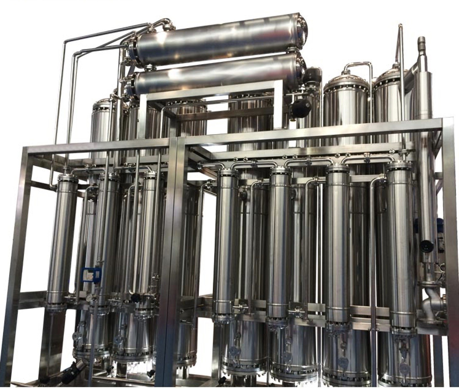 Industrial Water Treatment Systems High Capacity 1 – 3 Stage RO Water Treatment Machine
