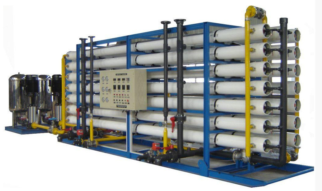 Stainless Steel RO Pure Water Treatment Systems / Plant For Pure Water
