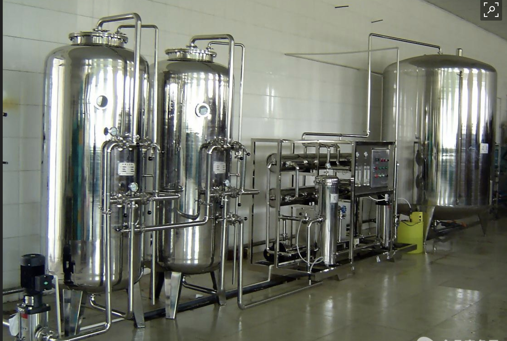 Drinking Water Treatment Systems Reverse Osmosis 2 Stage Water Purification Plant