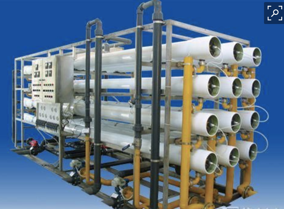 Reverse Osmosis Filter Drinking RO Water Treatment Plant For Mineral Water