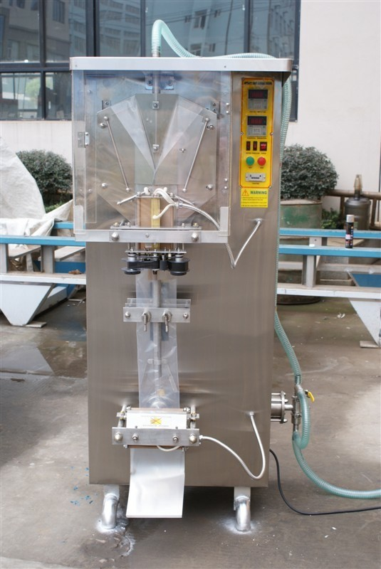 Automatic Pouch Bag Filling Machine / Liquid Sachet Packing Machine For Soy Sauce