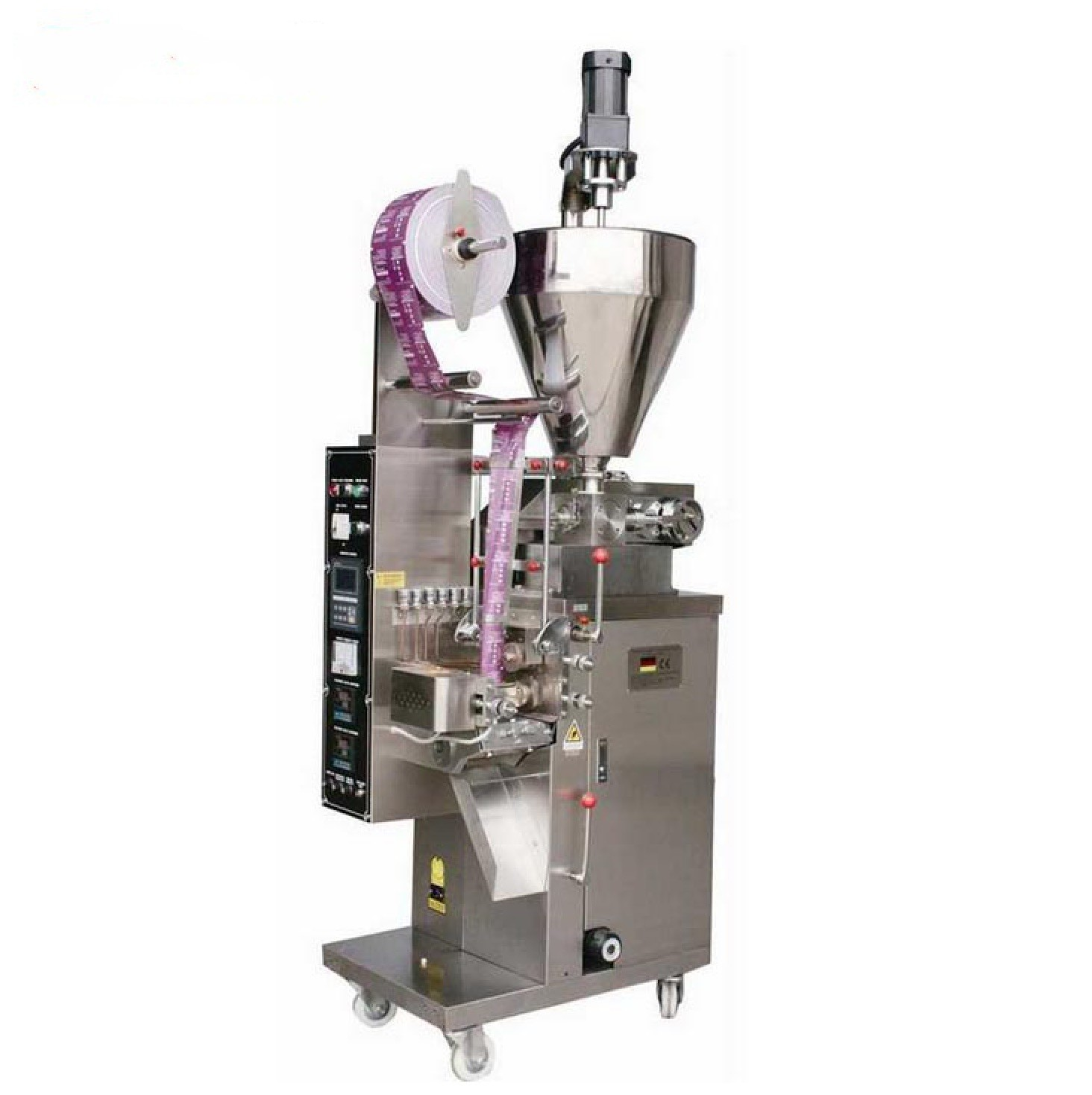 Sachet Bag Filling Machine Liquid / Powder Filling And Sealing Machine For Coffee