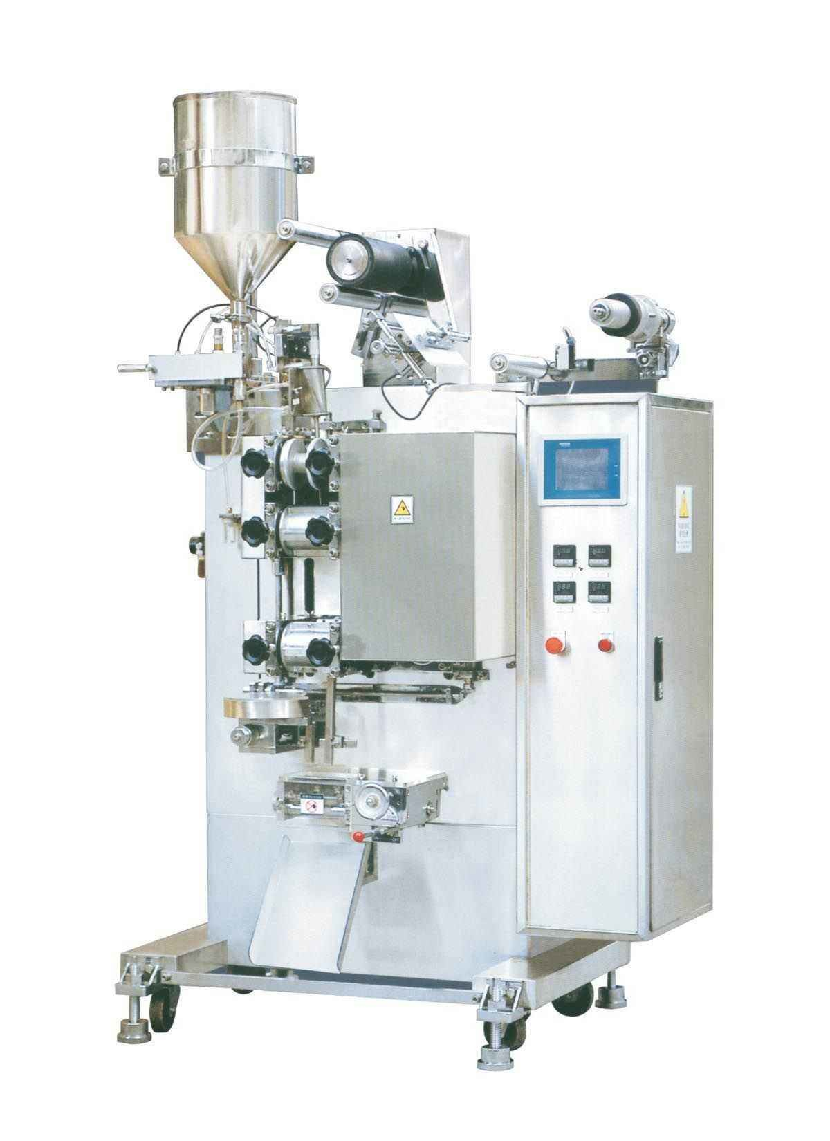 Liquid Filling And Sealing Machine , Vertical Plastic Water Bag Filling Sealing Machine
