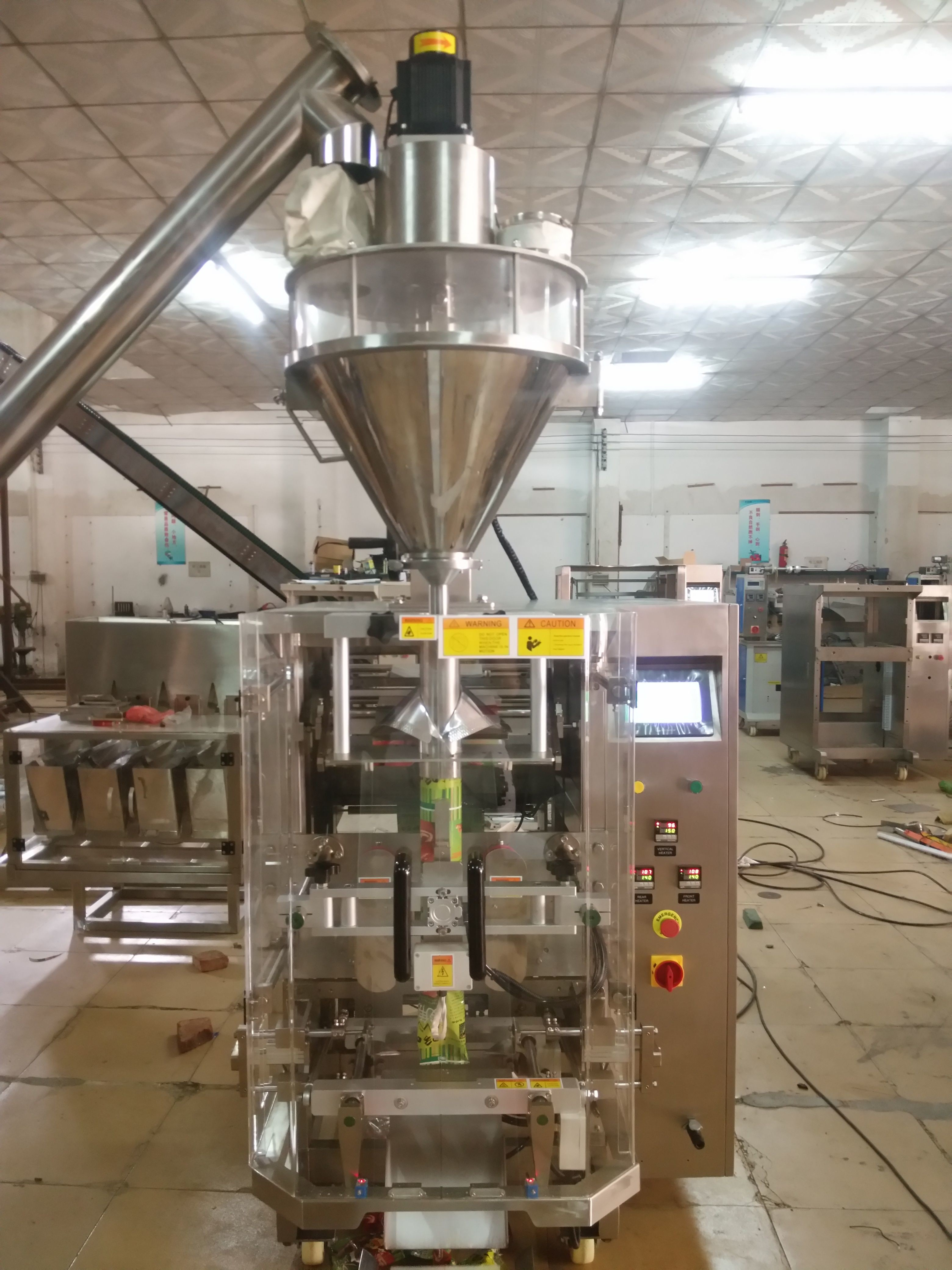 Multifunctional Milk Powder Packing Machine For Flour Spices / Mask Powder