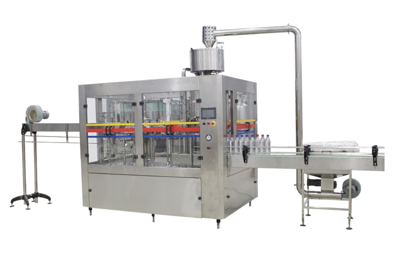 3 In 1 Automatic Soda Water Filling Machine , Small Carbonated Soft Drink Filling Machine
