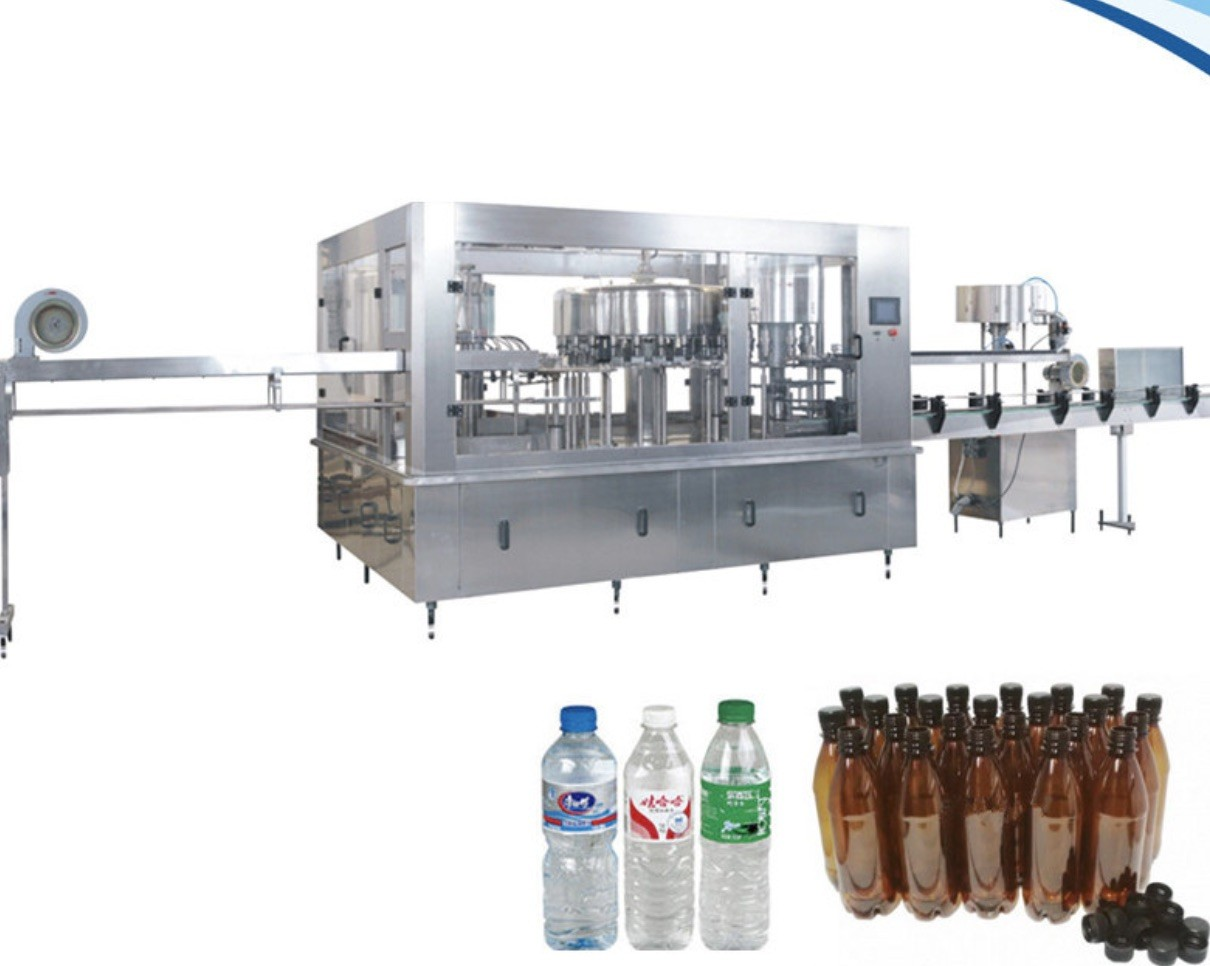 Professional Beverage Filling Line High Capacity 22000 BPH Juice Bottle Filling Machine