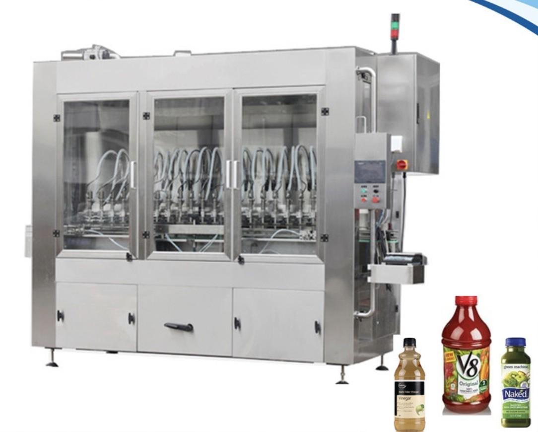 Professional Beverage Filling Line High Capacity 22000 BPH Juice Bottle Filling Machine