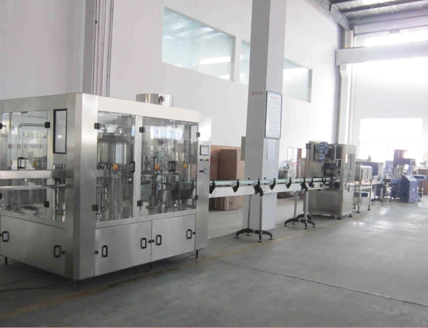 Beer / Wines / Rice Drink Production Line High Capacity Automatic For Small Bottle