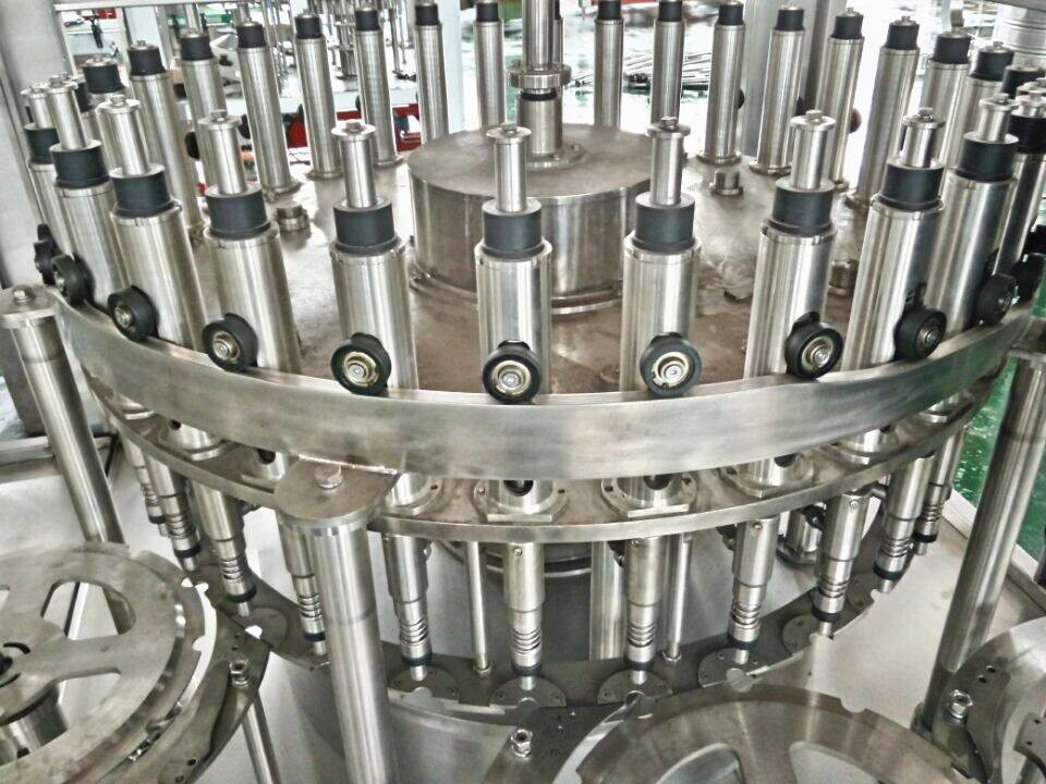 Red Bull Energy Drink Production Line Automatic For Glass / PET Bottle
