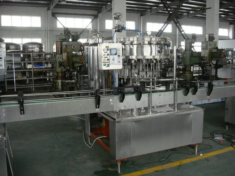 Fizzy Drink Production Line / Bottling Machine 6000 BPH-12000 BPH CE Certificate