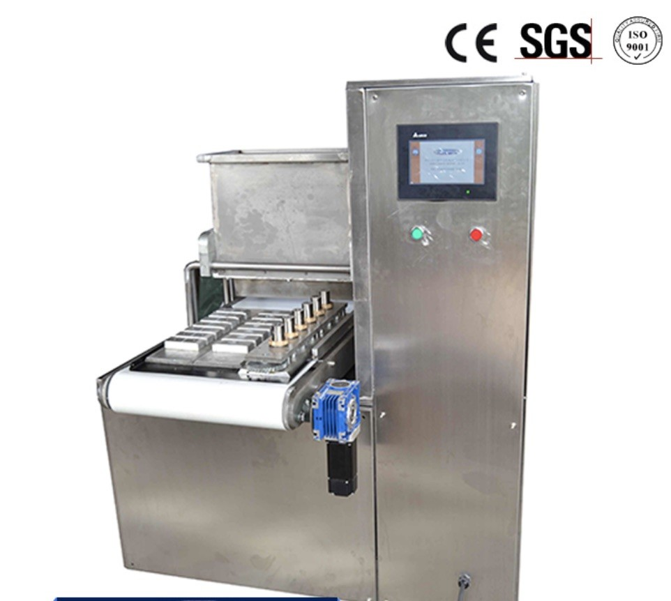 Easy Operation Mini Biscuit Forming Machine Food Grade Stainless Steel Material