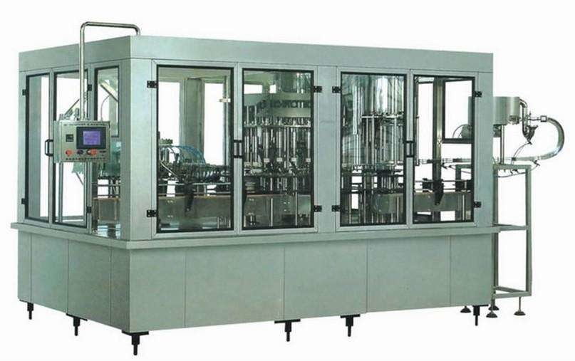 PET Bottle Fruit Juice Production Line , Automatic Fruit Juice Packaging Machine